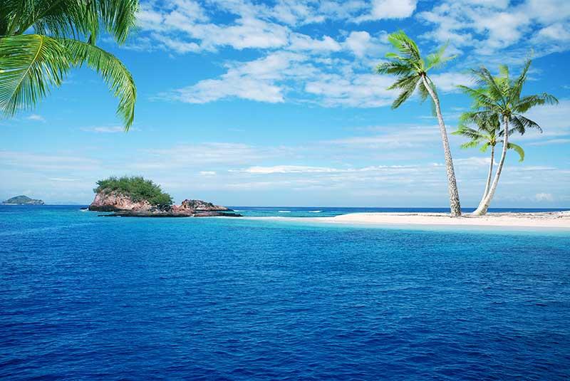 xt15822美式地中海海滩椰树海景蓝天马尔代夫海景