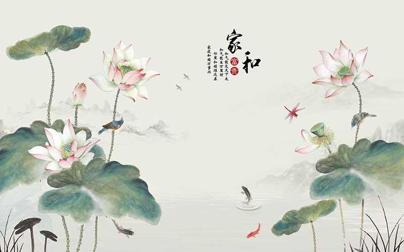 【步韵和诗·宋·李清照·天接雲濤連曉霧】(945)【漁家傲】《国安端午荷花赋》by Ju